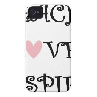 teach love inspire Case-Mate iPhone 4 case