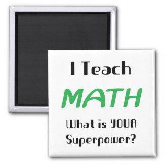 Teach math magnet