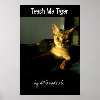 Teach Me Tiger Poster