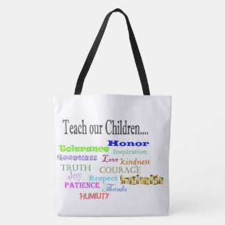 Teach our Children Tote bag