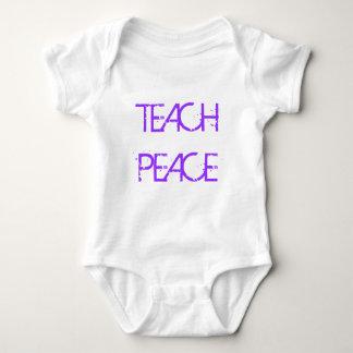 Teach Peace Infant Onsie Baby Bodysuit