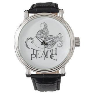 Teach Piece Watch Henna Inspired Original Design