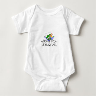Teach To Fish Baby Bodysuit