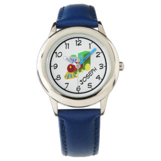 Teach to Tell Time, Train Watch with Name