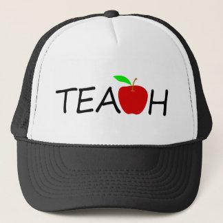 teach trucker hat