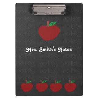 Teacher Apple Clipboard