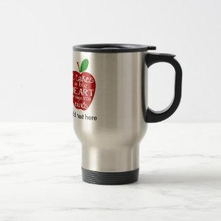 Teacher Apple Thank You Travel/Commuter Mug