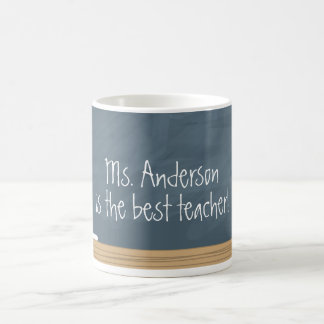 Teacher Appreciation | Chalkboard Coffee Mug