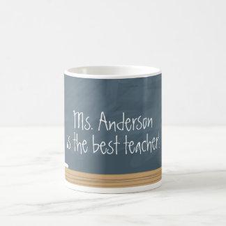 Teacher Appreciation | Chalkboard Basic White Mug