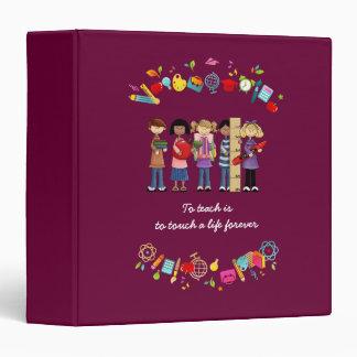 Teacher Appreciation Gift Binders