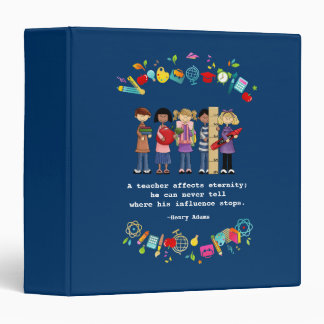 Teacher Appreciation Gift Binders