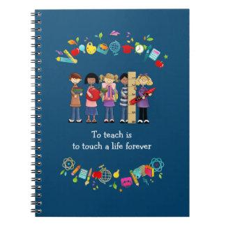 Teacher Appreciation Gift Notebooks