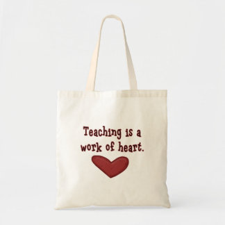 Teacher Appreciation Heart Bag