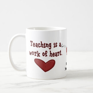 Teacher Appreciation Heart Mug