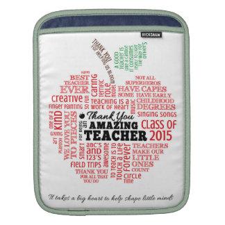 Teacher Appreciation Ipad Sleeve