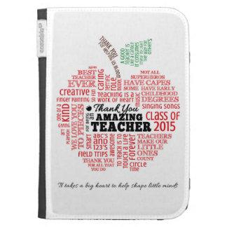 Teacher Appreciation Kindle Case