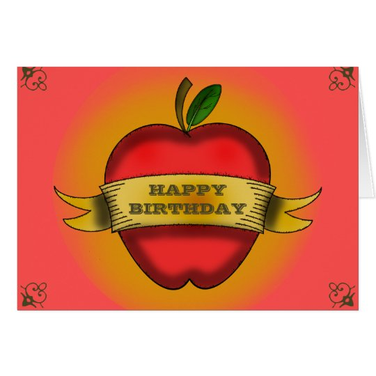 Teacher Birthday Card