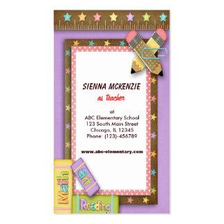 Teacher Pack Of Standard Business Cards