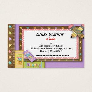 Teacher Business Card