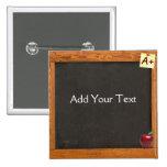 Teacher Chalkboard 2 Inch Square Button