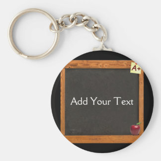 Teacher Chalkboard Keychain
