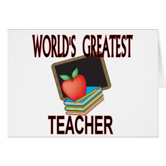Teacher Christmas Gifts Greeting Card