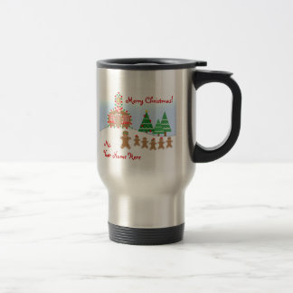 Teacher Christmas Mug - Gingerbread Scene