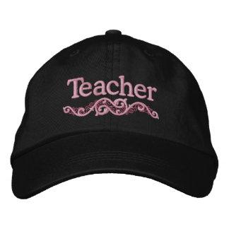 Teacher Custom Embroidered Hat Gift