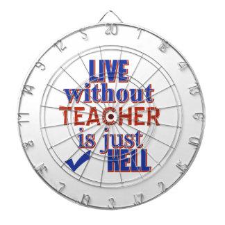 TEACHER DESIGN DART BOARD