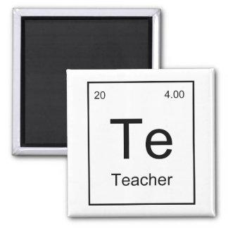 Teacher Element Square Magnet