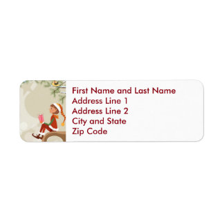 Teacher Elf - Personalized Return Address Label