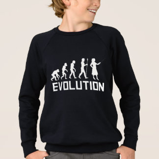 Teacher Evolution Sweatshirt