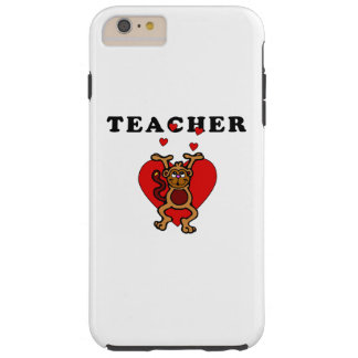 Teacher Fun Tough iPhone 6 Plus Case