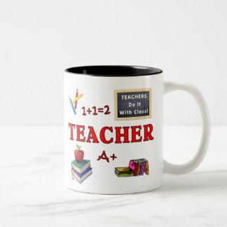 Teacher Gift Mug Teachers Do It With Class