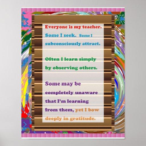 TEACHER Gratitude Poster