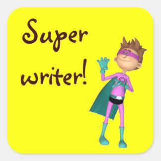 Teacher inspirational writer sticker