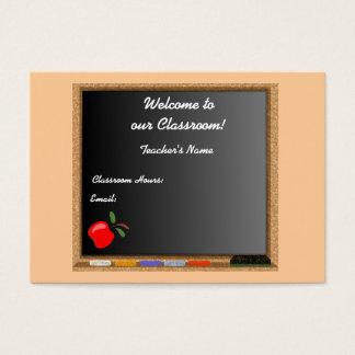 Teacher / Instructor Profile Card
