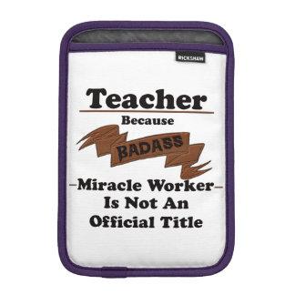 Teacher iPad Mini Sleeves
