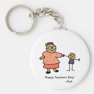 Teacher_keychain ART(Personalize) Keychain
