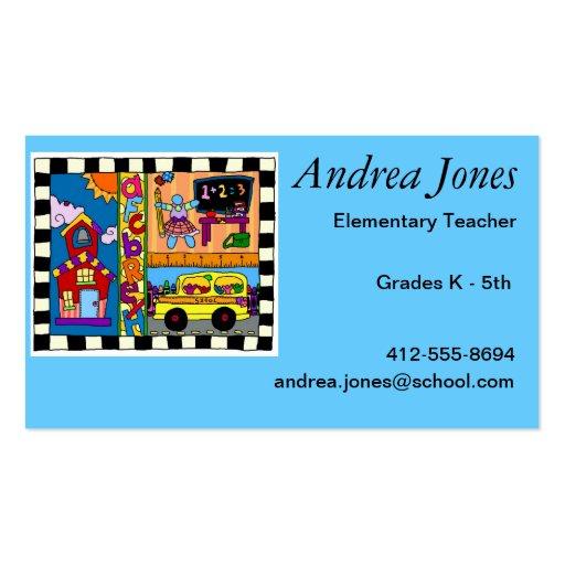 Teacher Knows Best Business Card