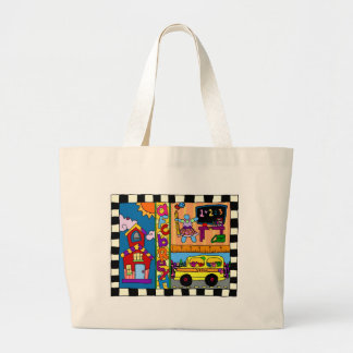 Teacher Knows Best Large Tote Bag