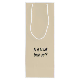 "Teacher ""Lunch"" Wine Bag Gift Package"