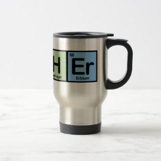 Teacher made of Elements Coffee Mug