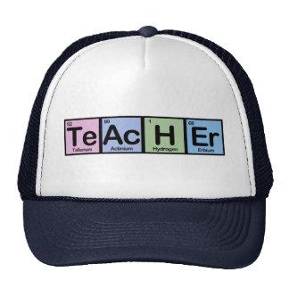 Teacher made of Elements Trucker Hat
