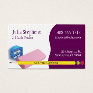 Teacher, Mentor or Tutor Business Card