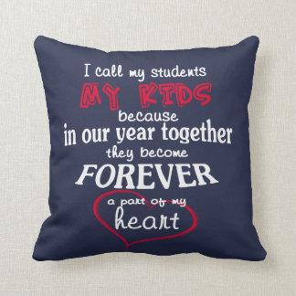 Teacher - My Students Throw Pillow
