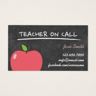 Custom Teacher Business Cards | Zazzle.ca
