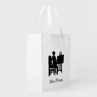 Teacher Personal Reusable Grocery Bag