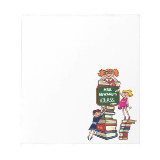 Teacher  PERSONALIZED NAME's Class Notepad