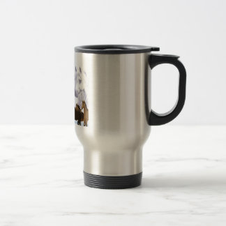 Teacher Poem  -  Horses Design Travel Mug